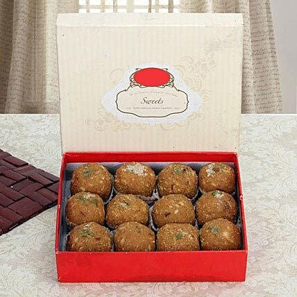 Box of Dry Fruit Besan Laddoo:Send Sweets to UAE