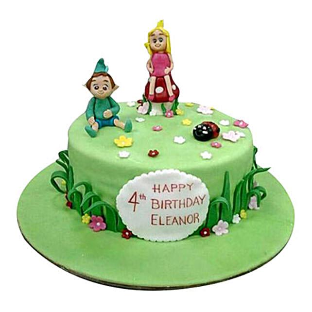 Cartoon Kids Cake