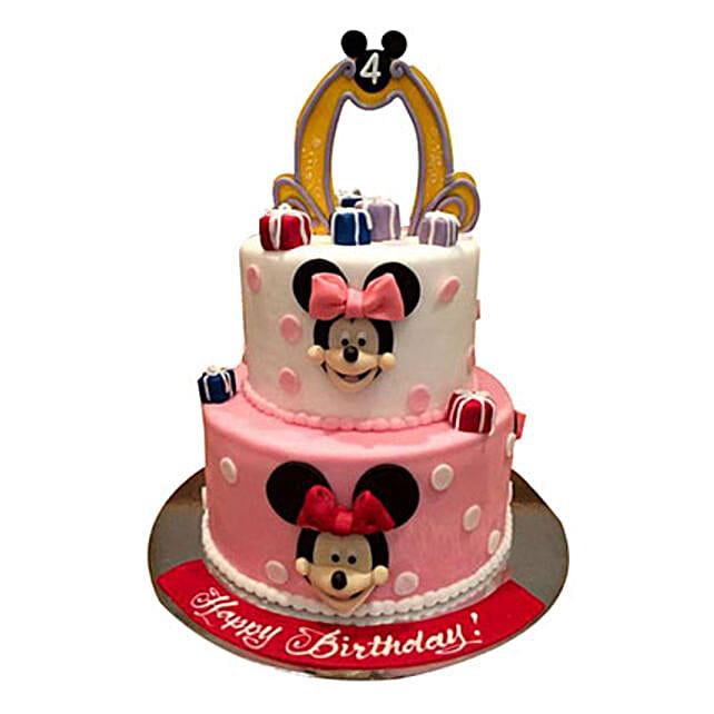 Cartoon Minnie Cake