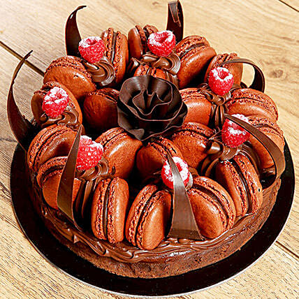 Chcocolate Macaronade:Chocolate Cake Delivery in UAE