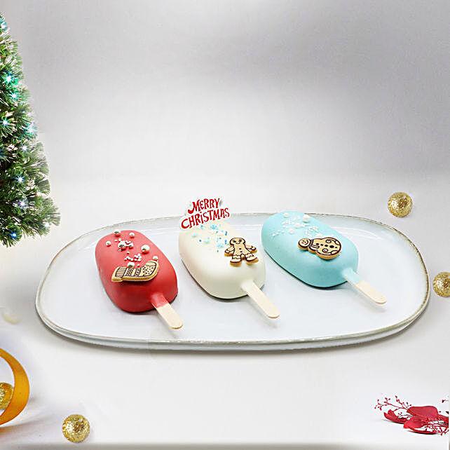 Christmas Cake Pops:Christmas Cakes to Dubai