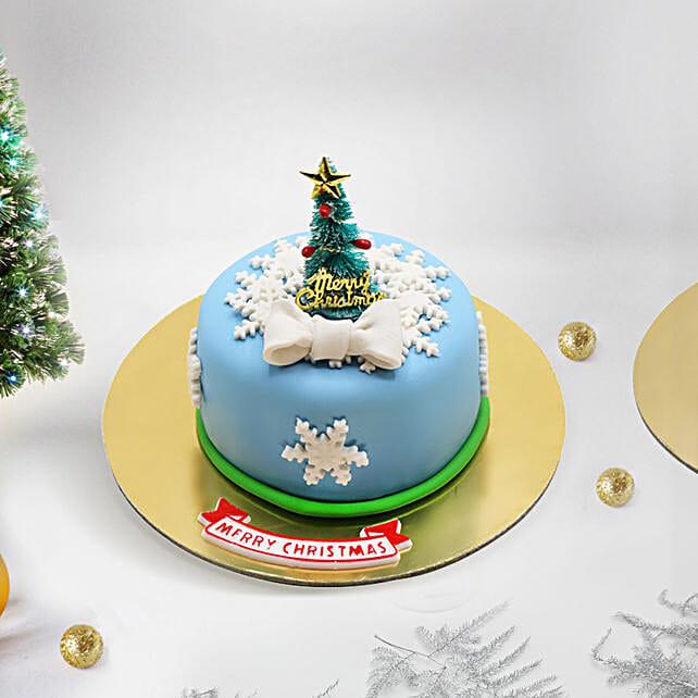 Christmas Tree Mono Cake