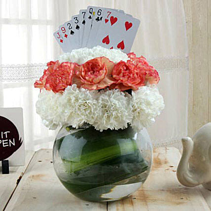 Classy Arrangement with Card