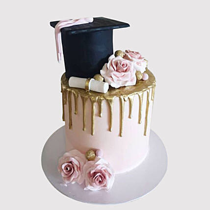 Congratulate On Graduation Cake