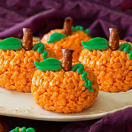 Crispy Rice Pumpkin:Send Thanks Giving Gifts to UAE