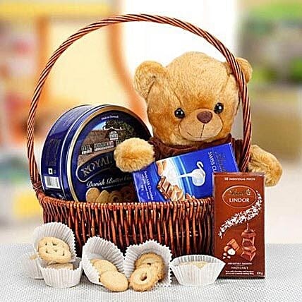 Cuddly Wishes:Gift Baskets to UAE