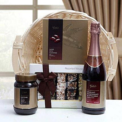 Delectable Centerpiece:Dubai Gift Basket Delivery