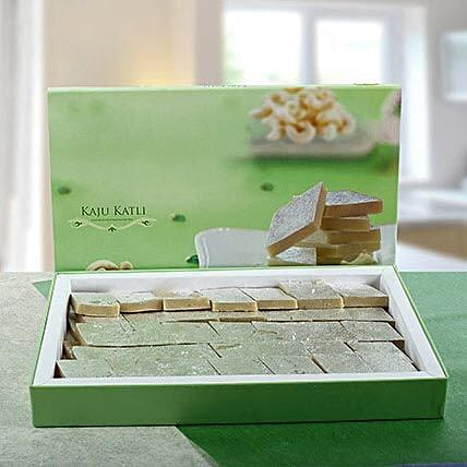 Delicious Kaju Barfi:Send Sweets to UAE