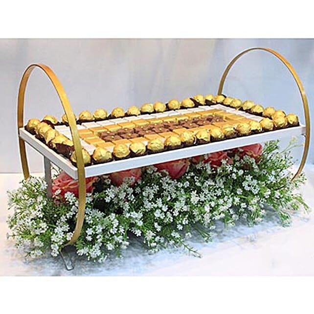 Designer Chocolate Tray