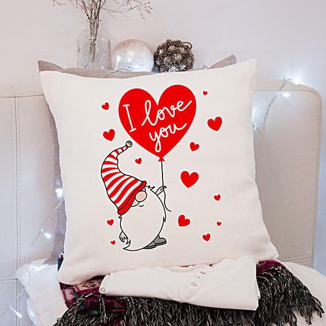 Express Love Printed Cushion