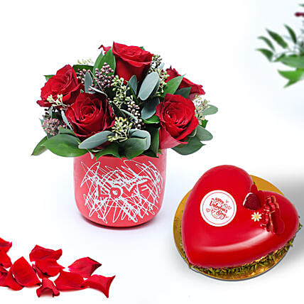 Finding My Way To Your Heart:Send Valentines Day Roses to UAE
