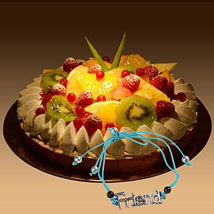 Fruit Tart with Friendship Band