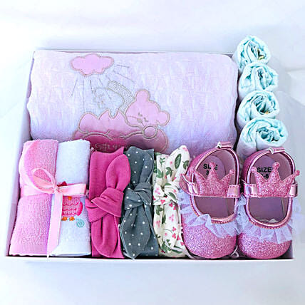 Glittery Love Gift Hamper For Baby