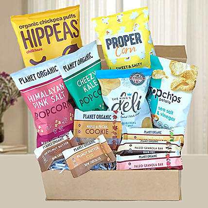 Gourmet Healthy Snack Hamper