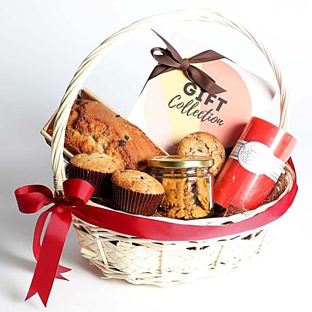 Grand Teatime Goodies Gift Basket