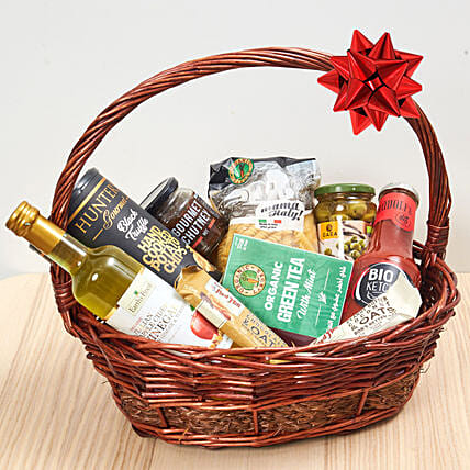 Handle Basket Of Treats