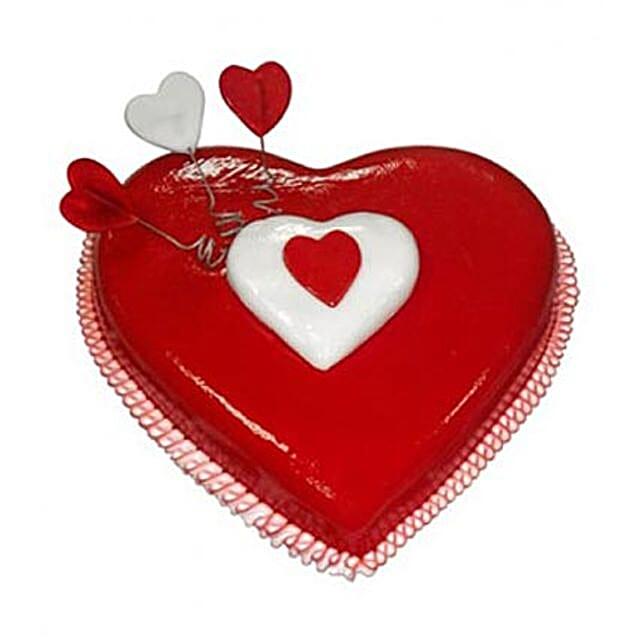 Heart Love Cake