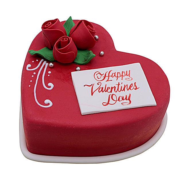 Heart Shaped Valentine Cake 1Kg