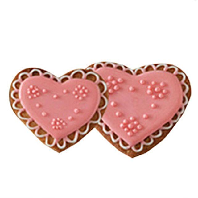 Heartshape Cookies with Wave