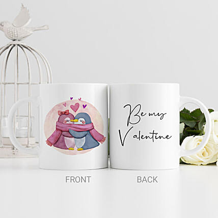 Hugs And Kisses Printed Mug