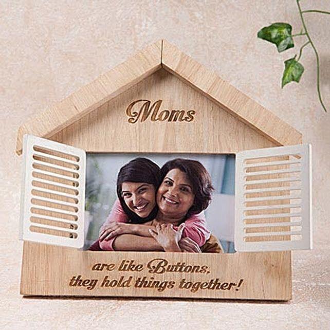 Hut Shaped Personalized Frame:Personalized Gifts Dubai UAE