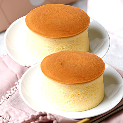 Japanese Cheesecake Vanilla Mono:Cheesecakes Delivery in UAE