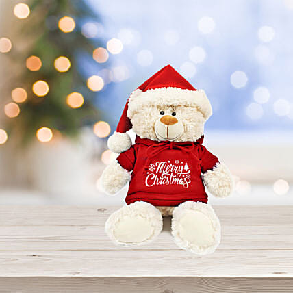 Jolly Teddy Chirstmas Wishes