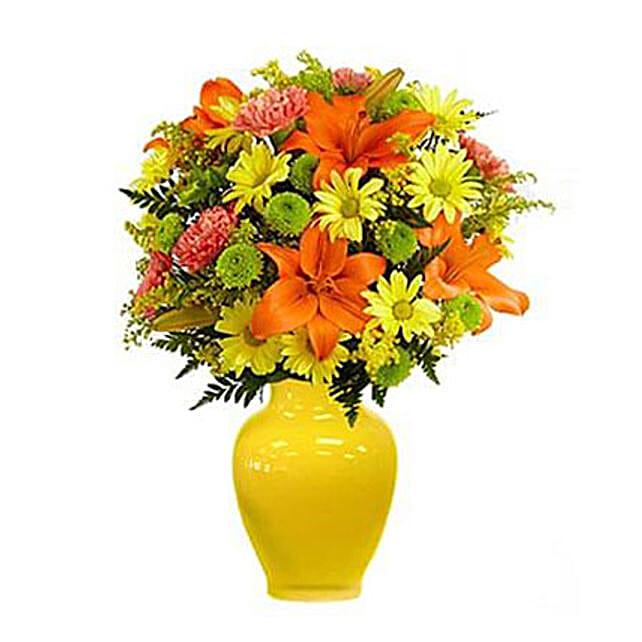 Keep Smiling Mixed Bouquet Standard