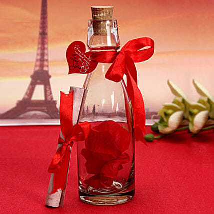 Love note In a Bottle