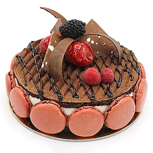Luscious Triple Chocolate Cake