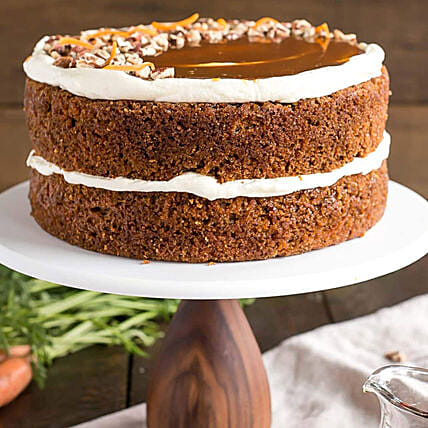Maple Cinnamon Cake 8 Portion:Send Thanks Giving Gifts to UAE