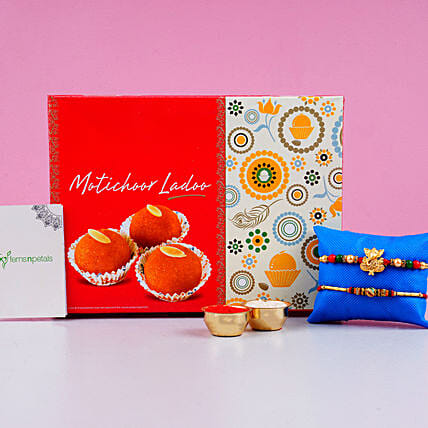 Meena Rakhi And Motichoor Laddoo