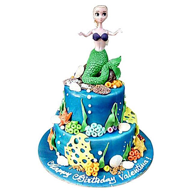 Mermaid Cake:Cartoon Cake Delivery in UAE