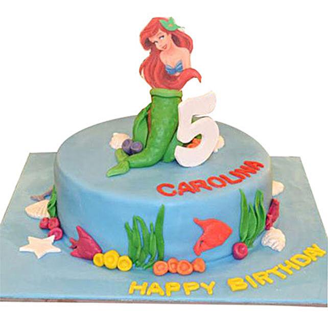 Mermaid Princess Cake