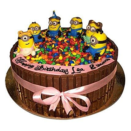 Minions Together Cake