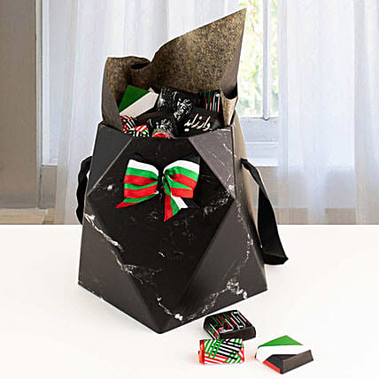 National Day Chocolate Hamper Black
