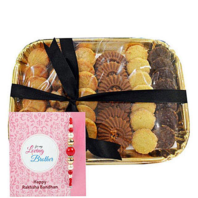 Pearl Rakhi N Cookies