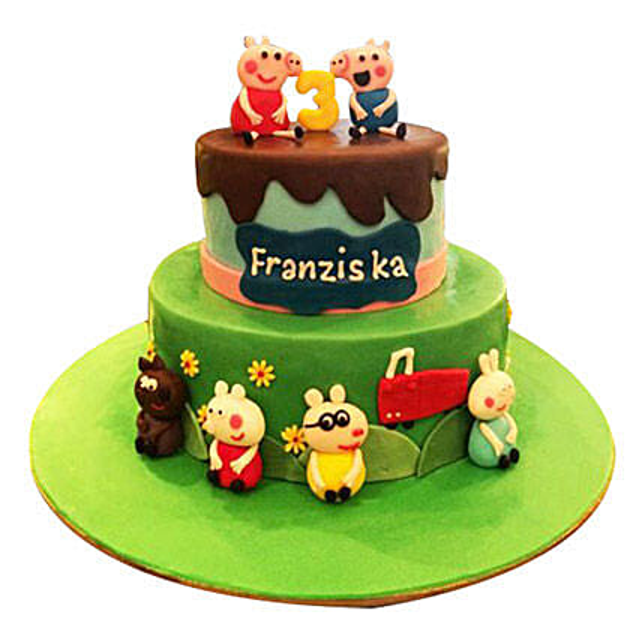 Peppa Pig Again Cake