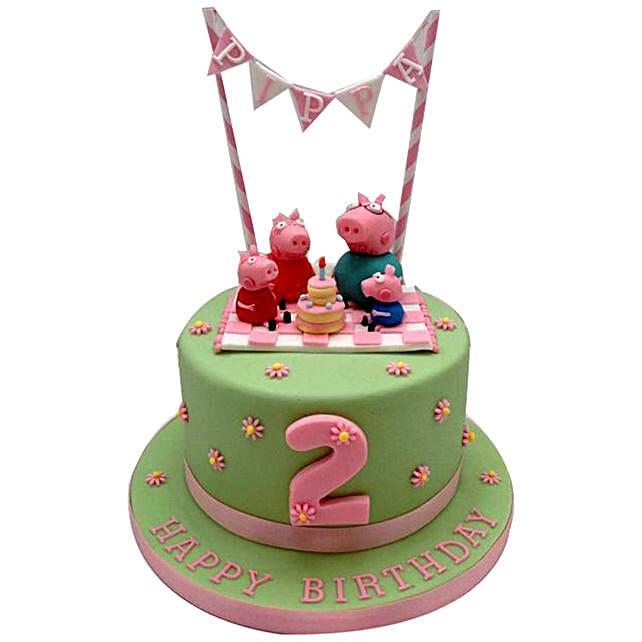 Peppa Pig Celebration Cake