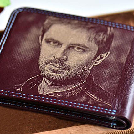 Personalised Engraved Photo Wallet