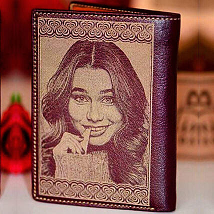 Personalised Engraved Wallet For Sister