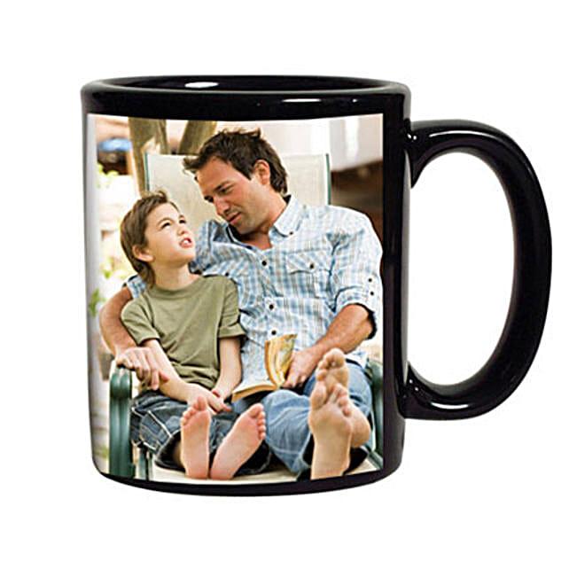 Personalized Black Coffee Mug