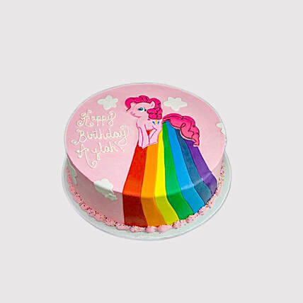 Pinkie Pie Rainbow Power Cake