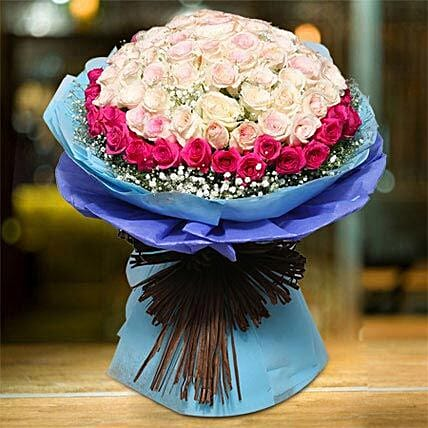 Royal Rose Bouquet:Mother's Day Flower Bouquets to UAE