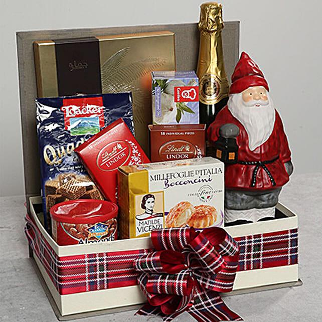 Santa Idol and Chocolate Hamper