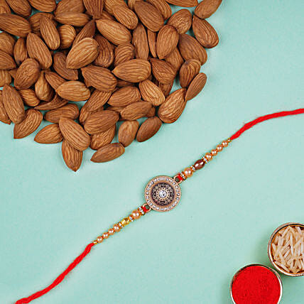 Sun Rakhi And Almonds