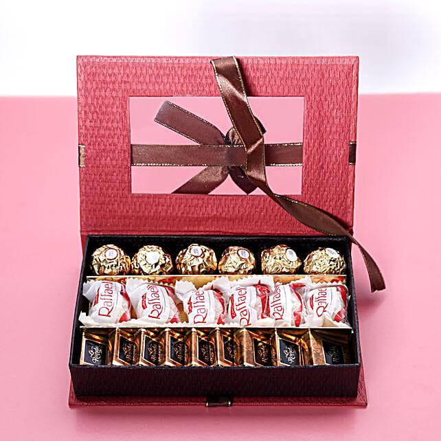 Trio Chocolate Box