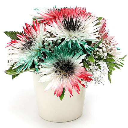 UAE Flag Flower Arrangement