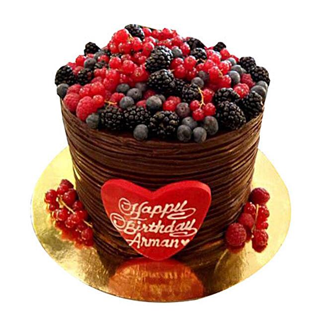 Blackberries Cake