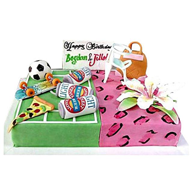 Food Sport Flower Cake